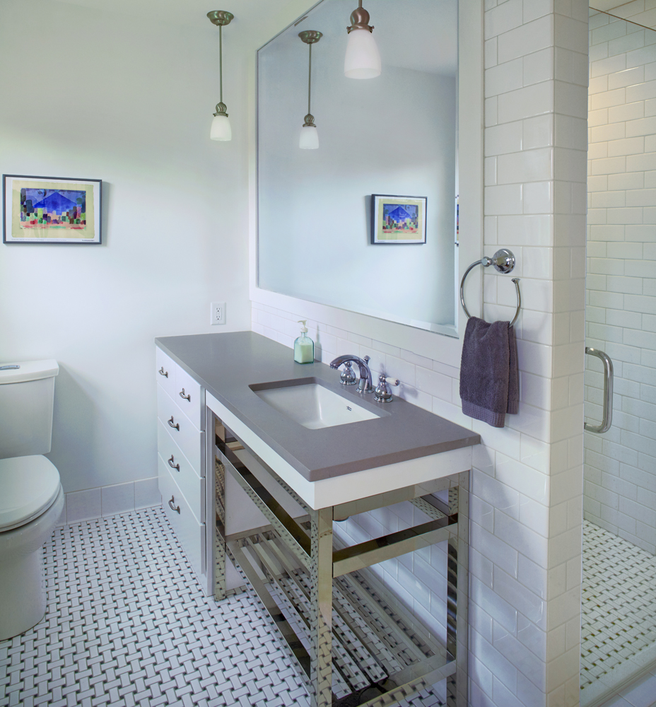 Gray and White Kitchen Remodel, New Master Suite & Bath - Minneapolis