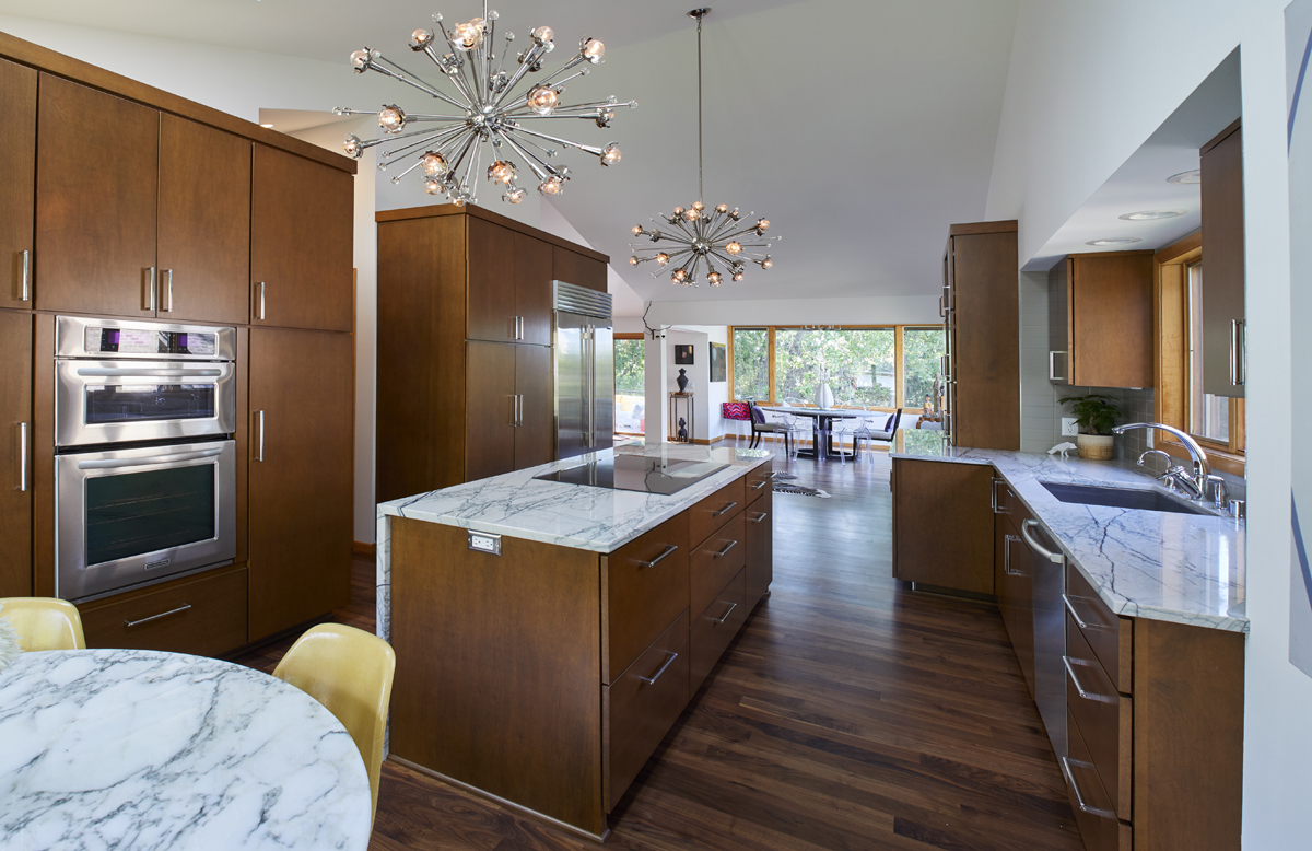 Modern Open Concept Remodel In Bloomington Mn